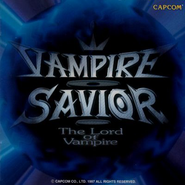 Vampire Savior Lord of Vampire Capcom Game Soundtrack Front