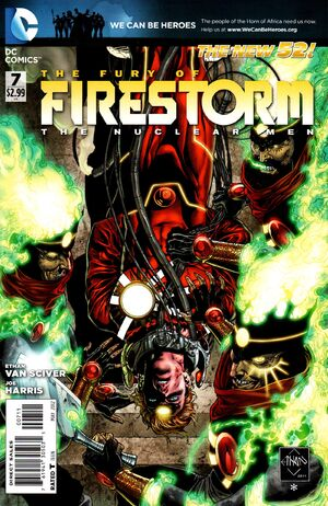 Cover for Fury of Firestorm #7