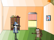 Mordecai and Rigby&#39;s Living Room