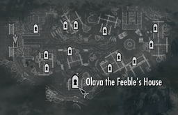 Olava's House Map