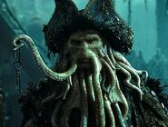 Davy Jones Holding His Key