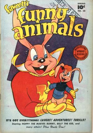 Cover for Fawcett's Funny Animals #58