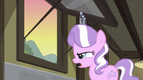 Diamond Tiara looking out S2E23