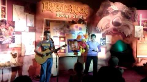 HUB TV & Comic Con Fraggle Rock
