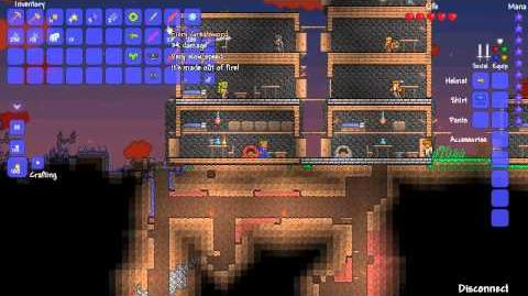 Terraria - Fiery Greatsword!