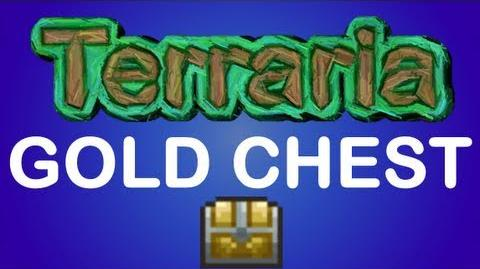 Terraria - Gold Chest