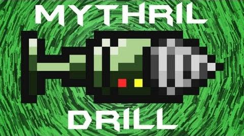 Terraria - Mythril Drill Terraria HERO
