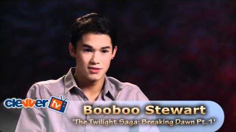 'The Twilight Saga Breaking Dawn -- Part 1' -- Booboo Stewart Interview