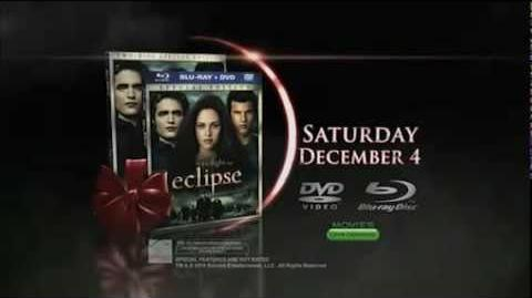 The Twilight Saga Eclipse DVD TV Spot