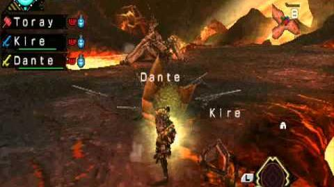 Monster hunter 3 PSP †Toray & Kire† & Dante Tigrex Negro 3rd