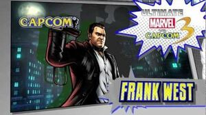 Frank West Character Vignette - Ultimate Marvel vs