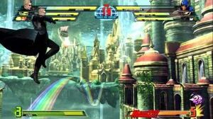 TGS Wesker Gameplay - MARVEL VS