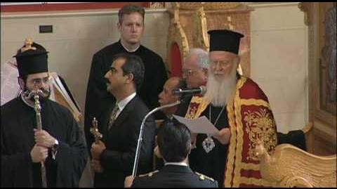 Ecumenical Patriarch Bartholomew's speech at Divine Liturgy