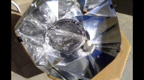 Diamond Solar Cooker