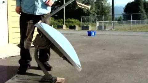 Satellite Dish Solar Cooker Demonstration