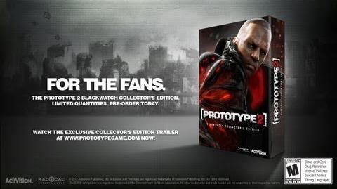 Official PROTOTYPE 2 Collector's Edition Announcement