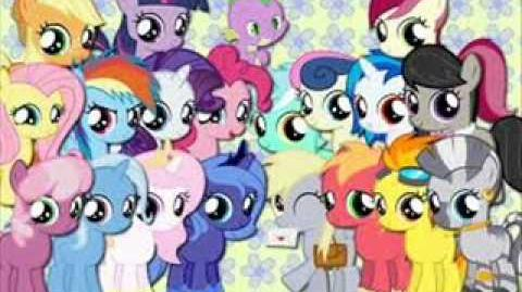 Mlp FiM - A circle of friends (filly)