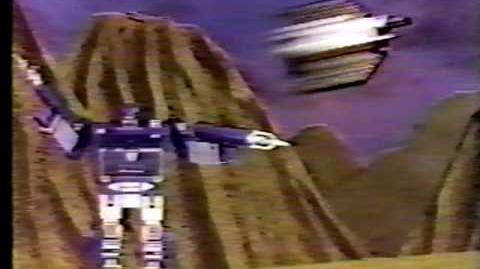 Transformers Soundwave first commercial