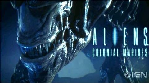 Aliens Colonial Marine Cinematic Trailer