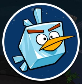 angry birds space ice bird - photo #25