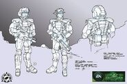 CNCTW Rifleman Concept Art BP 1