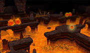 The Firemaker&#39;s Curse fire room