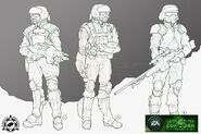 CNCTW GDI troops concept art
