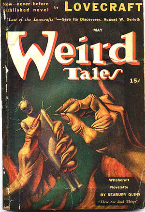 Weird Tales May 1941