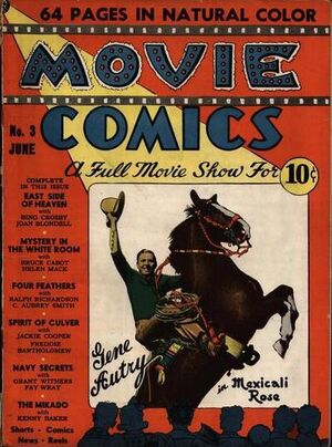 Cover for Movie Comics #3