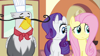 Rarity, Fluttershy &amp; Griffon chef S2E24