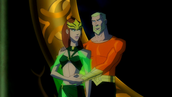 King Orin and Queen Mera