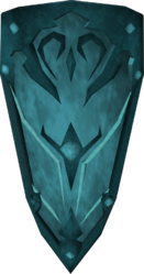 Rune kiteshield detail