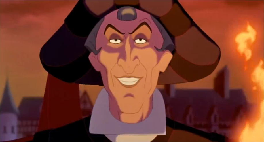 MBTI enneagram of Claude Frollo