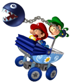 Babies and Chain Chomp - Mario Kart Double Dash!!