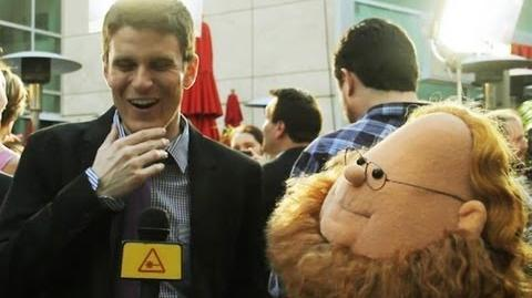 Kevin Pereira Interviewed by Puppet Harry Knowles
