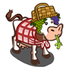 Messy Picnic Cow-icon