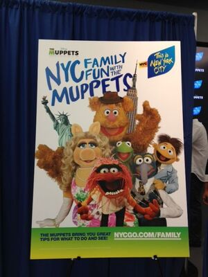 NYCFamilyFunwiththeMuppets2012Poster