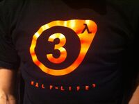HL3 t-shirt