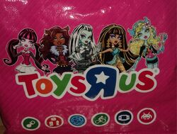 Monster High Toys&#39;R&#39;Us bag