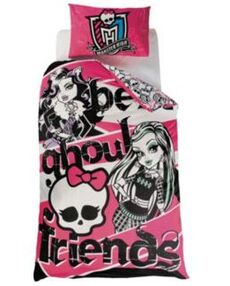 Best Ghoul Friends Duvet Set