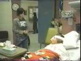Ash visiting Terri in the hospital