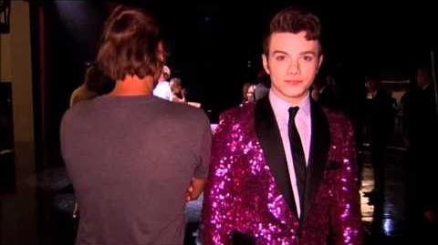 GLEE - A Moment of Glee Zach Woodlee & Chris Colfer Present..