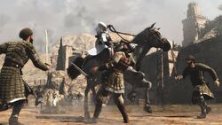 AC horseback battle