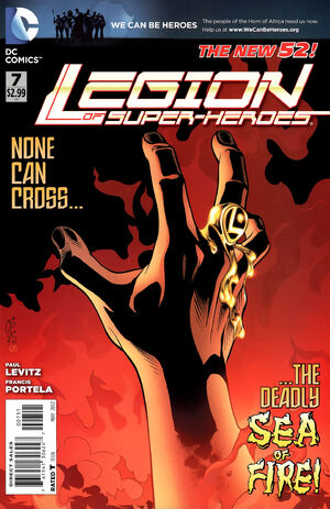 Cover for Legion of Super-Heroes #7