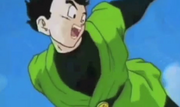 Gohan waving bye to videl