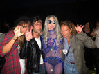 100521-Aftershow with Sara Nataf-Andre Saraiva-Jen-Eymere-with-Gaga