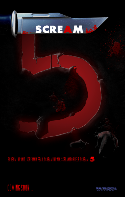 Image - Scream 5 poster by blackisalovelycolor-d49di73.png ...