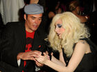Lady Gaga and David LaChapelle