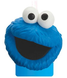 Candles cookie monster