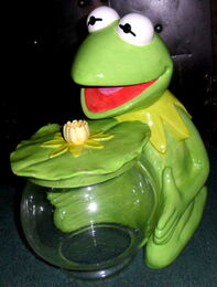 Treasure craft kermit glass 1